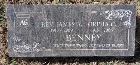 BLOCK BENNEY, ORPHA C. - Yavapai County, Arizona | ORPHA C. BLOCK BENNEY - Arizona Gravestone Photos