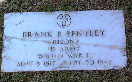 BENTLEY, FRANK B. - Yavapai County, Arizona   FRANK B. BENTLEY - Arizona Gravestone Photos