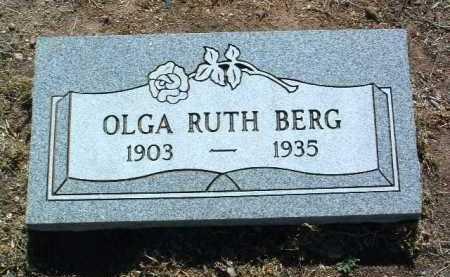 HANSON BERG, OLGA RUTH - Yavapai County, Arizona | OLGA RUTH HANSON BERG - Arizona Gravestone Photos