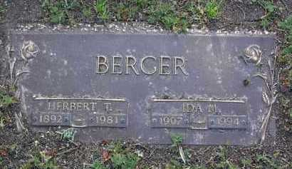 BERGER, IDA M. - Yavapai County, Arizona | IDA M. BERGER - Arizona Gravestone Photos