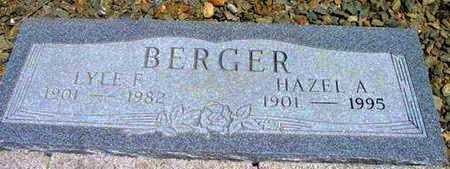 HAZELHUHN BERGER, H. A. - Yavapai County, Arizona | H. A. HAZELHUHN BERGER - Arizona Gravestone Photos