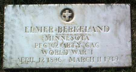 BERKELAND, ELMER - Yavapai County, Arizona | ELMER BERKELAND - Arizona Gravestone Photos