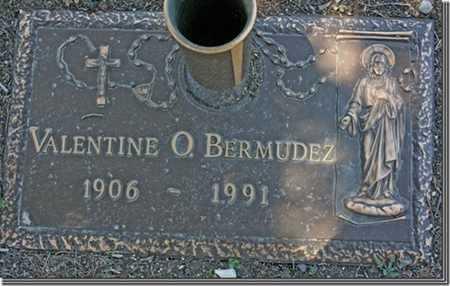 BERMUDEZ, VALENTINE O. - Yavapai County, Arizona | VALENTINE O. BERMUDEZ - Arizona Gravestone Photos