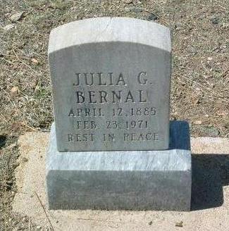 GOMEZ BERNAL, JULIA - Yavapai County, Arizona | JULIA GOMEZ BERNAL - Arizona Gravestone Photos