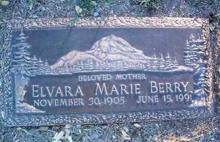 ENGLE BERRY, ELVARA MARIE - Yavapai County, Arizona   ELVARA MARIE ENGLE BERRY - Arizona Gravestone Photos