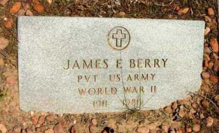 BERRY, JAMES E. - Yavapai County, Arizona | JAMES E. BERRY - Arizona Gravestone Photos
