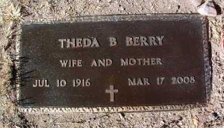 PARRISH BERRY, THELDA BARA - Yavapai County, Arizona | THELDA BARA PARRISH BERRY - Arizona Gravestone Photos