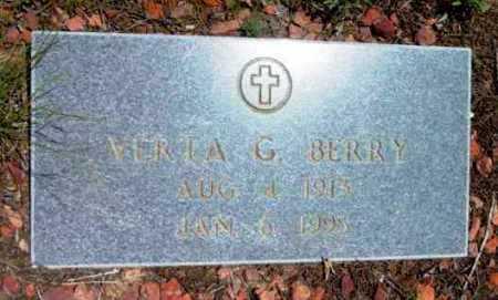 BERRY, VERTA G. - Yavapai County, Arizona | VERTA G. BERRY - Arizona Gravestone Photos