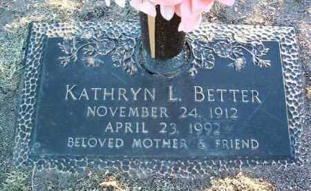 RAINES BETTER, KATHRYN - Yavapai County, Arizona | KATHRYN RAINES BETTER - Arizona Gravestone Photos