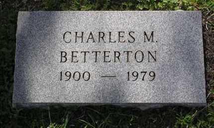 BETTERTON, CHARLES M. - Yavapai County, Arizona | CHARLES M. BETTERTON - Arizona Gravestone Photos