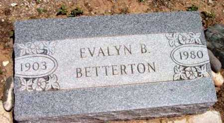 BETTERTON, EVALYN B. - Yavapai County, Arizona | EVALYN B. BETTERTON - Arizona Gravestone Photos
