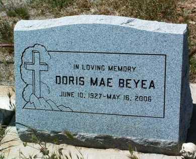 BEYEA, DORIS MAE - Yavapai County, Arizona | DORIS MAE BEYEA - Arizona Gravestone Photos
