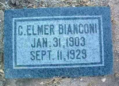 BIANCONI, CARL ELMER - Yavapai County, Arizona   CARL ELMER BIANCONI - Arizona Gravestone Photos