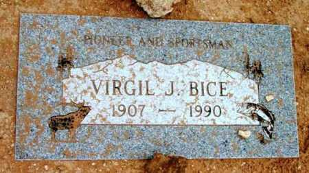 BICE, VIRGIL J. - Yavapai County, Arizona | VIRGIL J. BICE - Arizona Gravestone Photos
