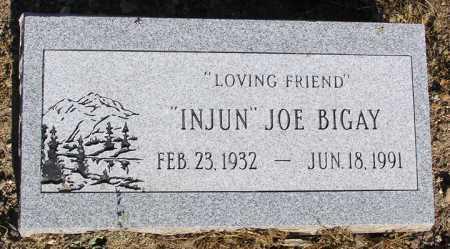 BIGAY, JOSEPH (INJUN JOE) - Yavapai County, Arizona | JOSEPH (INJUN JOE) BIGAY - Arizona Gravestone Photos
