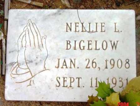 BIGELOW, NELLIE LUCINDA - Yavapai County, Arizona | NELLIE LUCINDA BIGELOW - Arizona Gravestone Photos