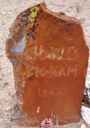 BIGHAM, CHARLES - Yavapai County, Arizona | CHARLES BIGHAM - Arizona Gravestone Photos