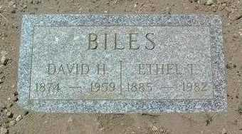 BILES, DAVID HOGG - Yavapai County, Arizona | DAVID HOGG BILES - Arizona Gravestone Photos