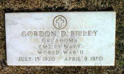 BILLEY, GORDON DENNIS - Yavapai County, Arizona   GORDON DENNIS BILLEY - Arizona Gravestone Photos