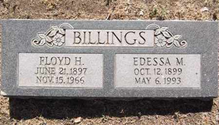 BURMEISTER BILLINGS, E. - Yavapai County, Arizona | E. BURMEISTER BILLINGS - Arizona Gravestone Photos
