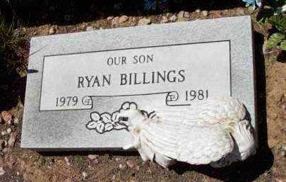 BILLINGS, RYAN - Yavapai County, Arizona | RYAN BILLINGS - Arizona Gravestone Photos