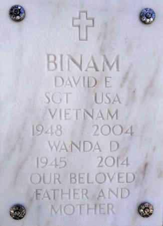 BINAM, DAVID EUGENE - Yavapai County, Arizona | DAVID EUGENE BINAM - Arizona Gravestone Photos