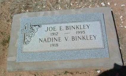 BINKLEY, JOE E. - Yavapai County, Arizona | JOE E. BINKLEY - Arizona Gravestone Photos