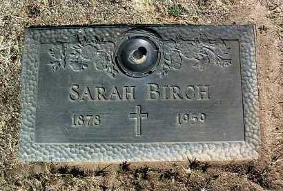 COPE BIRCH, SARAH F. - Yavapai County, Arizona | SARAH F. COPE BIRCH - Arizona Gravestone Photos