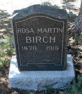 HEIMAN BIRCH, ROSA - Yavapai County, Arizona | ROSA HEIMAN BIRCH - Arizona Gravestone Photos