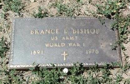 BISHOP, BRANCE EDWARD - Yavapai County, Arizona | BRANCE EDWARD BISHOP - Arizona Gravestone Photos