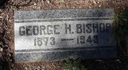BISHOP, GEORGE H. - Yavapai County, Arizona   GEORGE H. BISHOP - Arizona Gravestone Photos