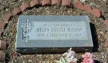 WILSON BISHOP, HELEN L. - Yavapai County, Arizona | HELEN L. WILSON BISHOP - Arizona Gravestone Photos