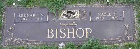 BISHOP, LEONARD NORMAN - Yavapai County, Arizona | LEONARD NORMAN BISHOP - Arizona Gravestone Photos