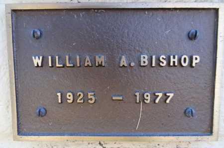 BISHOP, WILLIAM A. - Yavapai County, Arizona | WILLIAM A. BISHOP - Arizona Gravestone Photos