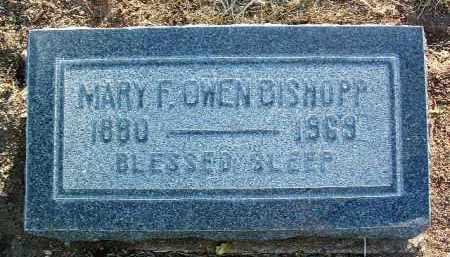 BISHOPP, MARY F. - Yavapai County, Arizona | MARY F. BISHOPP - Arizona Gravestone Photos
