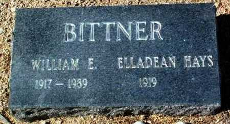BITTNER, ELLADEAN - Yavapai County, Arizona | ELLADEAN BITTNER - Arizona Gravestone Photos