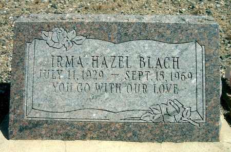 MILLAY BLACH, IRMA HAZEL - Yavapai County, Arizona | IRMA HAZEL MILLAY BLACH - Arizona Gravestone Photos