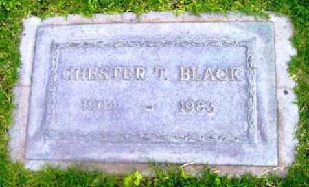 BLACK, CHESTER T. - Yavapai County, Arizona | CHESTER T. BLACK - Arizona Gravestone Photos