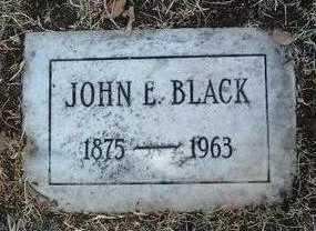 BLACK, JOHN E. - Yavapai County, Arizona | JOHN E. BLACK - Arizona Gravestone Photos