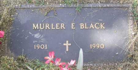 STEWART BLACK, MURLER E. - Yavapai County, Arizona | MURLER E. STEWART BLACK - Arizona Gravestone Photos