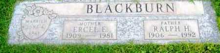 BLACKBURN, ERCEL E. - Yavapai County, Arizona   ERCEL E. BLACKBURN - Arizona Gravestone Photos