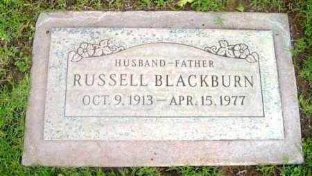 BLACKBURN, RUSSELL - Yavapai County, Arizona | RUSSELL BLACKBURN - Arizona Gravestone Photos