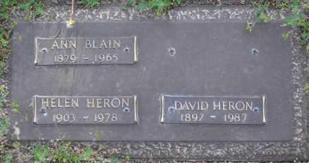 HERON, HELEN - Yavapai County, Arizona | HELEN HERON - Arizona Gravestone Photos