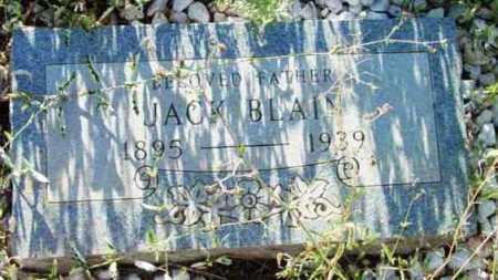 BLAIN, JACK - Yavapai County, Arizona | JACK BLAIN - Arizona Gravestone Photos