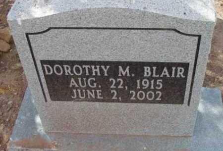 BLAIR, DOROTHY MAE - Yavapai County, Arizona | DOROTHY MAE BLAIR - Arizona Gravestone Photos