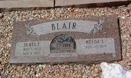BLAIR, NELDA L. - Yavapai County, Arizona | NELDA L. BLAIR - Arizona Gravestone Photos