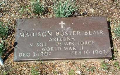 BLAIR, MADISON BUSTER - Yavapai County, Arizona | MADISON BUSTER BLAIR - Arizona Gravestone Photos
