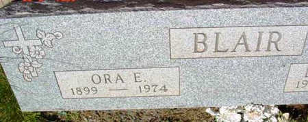 BLAIR, ORA E. - Yavapai County, Arizona | ORA E. BLAIR - Arizona Gravestone Photos