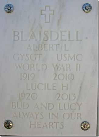 BLAISDELL, ALBERT L. - Yavapai County, Arizona | ALBERT L. BLAISDELL - Arizona Gravestone Photos