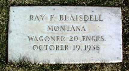 BLAISDELL, RAY F. - Yavapai County, Arizona | RAY F. BLAISDELL - Arizona Gravestone Photos